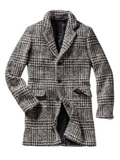 Mantel Cipool schwarz/weiß Detail 1