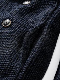 Urban Pea Coat blau/schwarz Detail 4