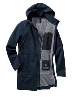 Raincoat Scandinavian Editon navy Detail 1
