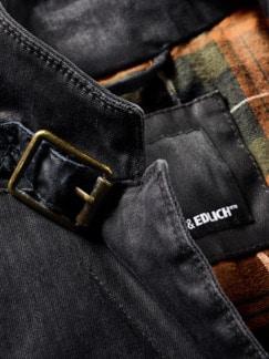Biker-Sakko used black Detail 4