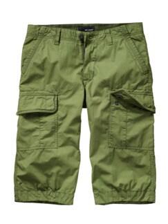 Freibeuter-Shorts oliv Detail 1