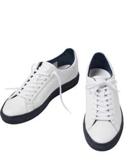 Sneaker Newman weiß/blau Detail 1