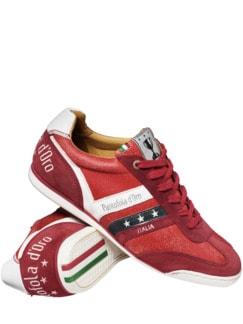 Retro-Sneaker Vasto rot Detail 1