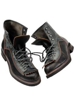 Dachdecker-Boot grau Detail 1