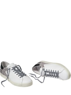 Hill Low Sneaker weiß/grau/schwarz Detail 1