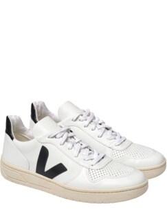 Sneaker V10 2.0 reinweiß/schwarz Detail 1