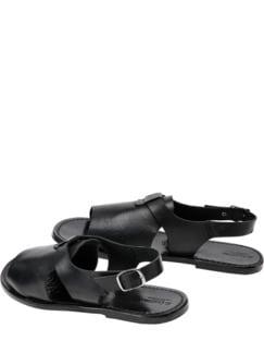 Pellegrino-Sandale schwarz Detail 1
