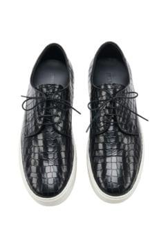 Sneaker Coccodrillo schwarz Detail 1