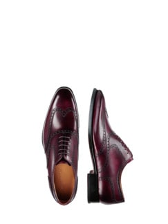 Fullbrogue 2020 bordeaux Detail 1
