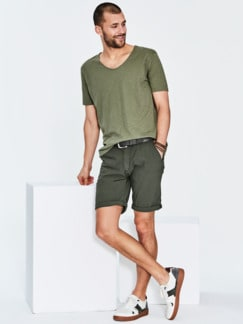 Sneaker Ceiba altweiß/grün Detail 2