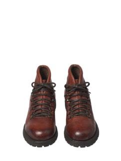 Dolomiten-Boot braun Detail 4