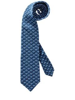 Pusteblumen-Krawatte blau Detail 1