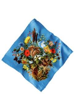 Guerilla-Gardening-Tuch royalblau Detail 1