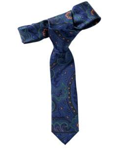 Paisley-Krawatte 2.0 blau Detail 1
