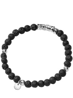 Lava-Armband schwarz Detail 1