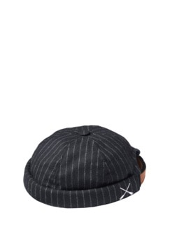 Miki Pinstripe Streifen schwarz Detail 3