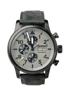 Ingersoll Uhr Hatton grau/silber Detail 1