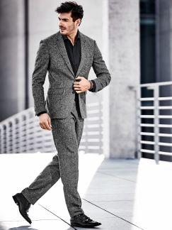 Salz-und-Pfeffer-Anzug