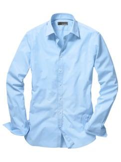 Future-Shirt Slim Fit hellblau Detail 1