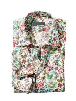 Tausend-Blumen-Hemd bunt Detail 1