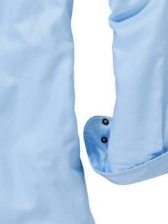 Oxford-Button-Down hellblau Detail 4