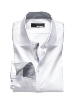 Dynamic-Shirt weiß Detail 1