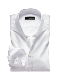 White Business-Shirt weiß Detail 1