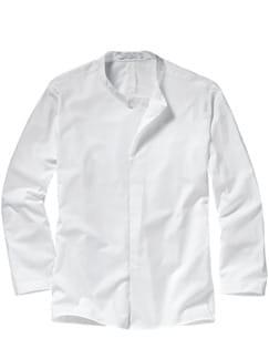 FTwSC-Stehkragenhemd weiß Detail 1