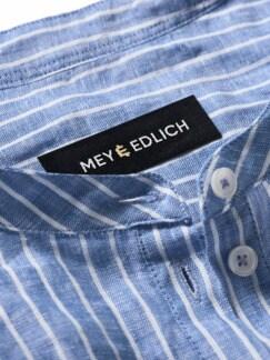 Fischerhemd Streifen blau/weiß Detail 4