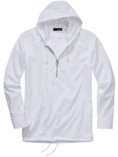Aussie-Shirt kalkweiß Detail 1