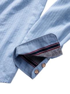 Freitags-Hemd hellblau Detail 4