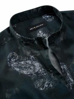 Dandy-Schlupfhemd anthrazit Detail 3