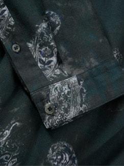 Dandy-Schlupfhemd anthrazit Detail 4