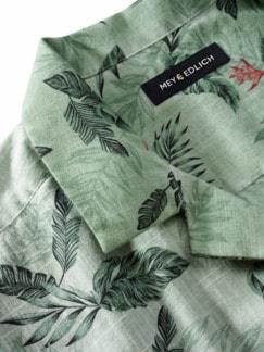 Tropen-Hemd farngrün Detail 3