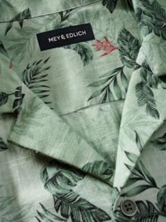 Tropen-Hemd farngrün Detail 4