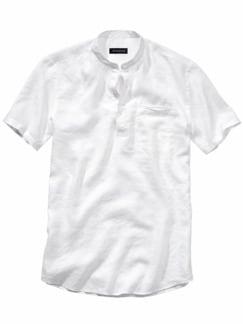 Urahnen-Hemd weiß Detail 1