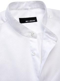 Plastron-Hemd 2.0 weiß Detail 3