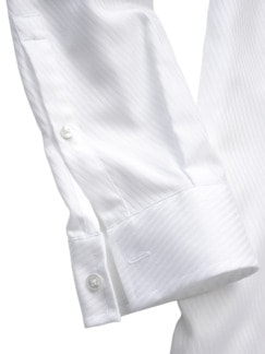 Plastron-Hemd 2.0 weiß Detail 4
