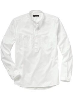 Künstler-Shirt weiß Detail 2