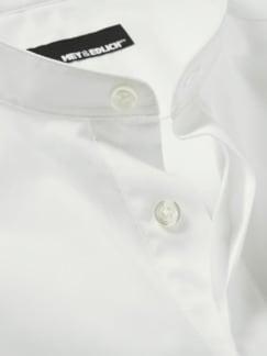 Künstler-Shirt weiß Detail 4