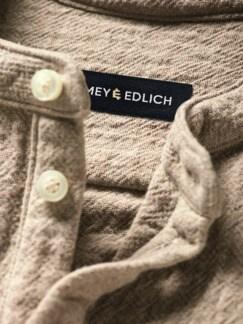 Hammerschlag-Hemd sand Detail 4