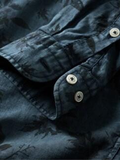 Patina-Hemd dunkelblau Detail 4