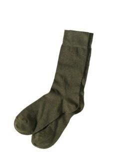 Blickfang-Socke salbei Detail 1