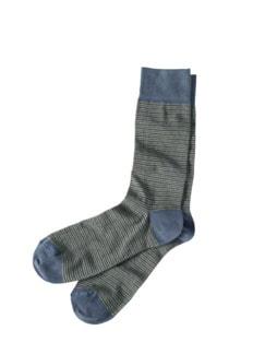Blickfang-Socke Rauten grau Detail 1