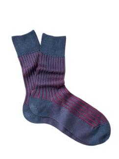 Falke Socke Shadow pflaume Detail 1