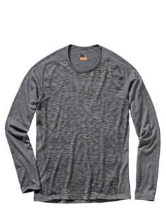 Gritstone-Shirt heathergrey Detail 1