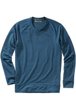 Eukalyptus-Sweater Cewe petrol Detail 1