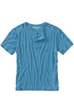 Chill-out-T-Shirt königsblau Detail 1