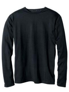 Concept-Shirt Langarm schwarz Detail 1