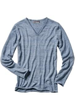 Sommergeschichten-Pullover blau Detail 1